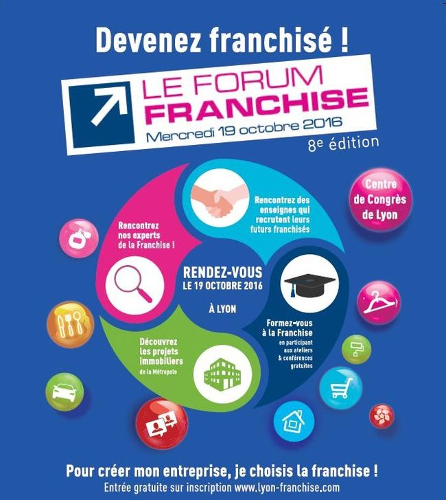 affiche forum franchise lyon 2016