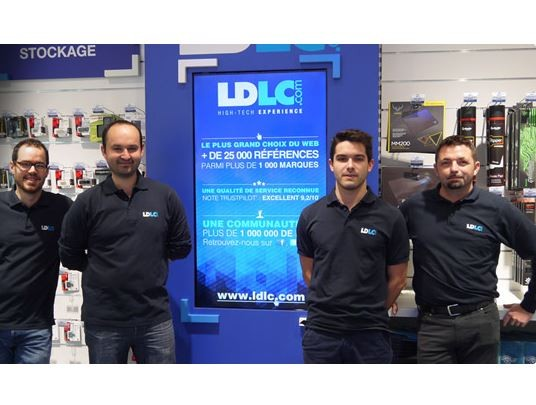 franchise-ldlc-cession-endettement-2019