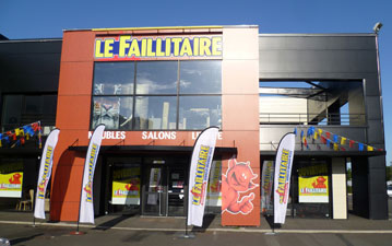 Franchise discount le faillitaire simplante quimper for Faillitaire meuble