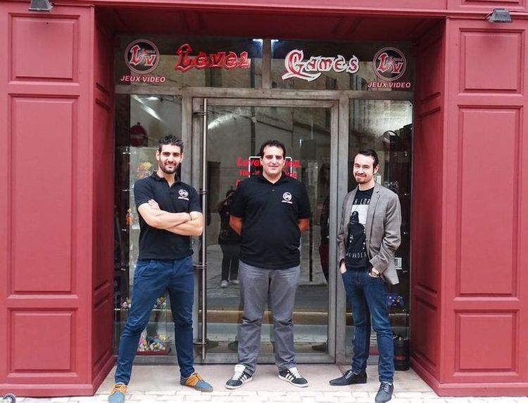gabriel, nouveau franchisé Level Games à Uzès