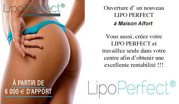 Franchise Lipo Perfect Maisons Alfort