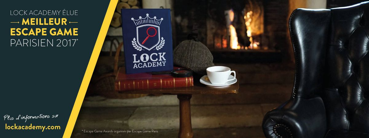 Franchise escape game Lock Academy
