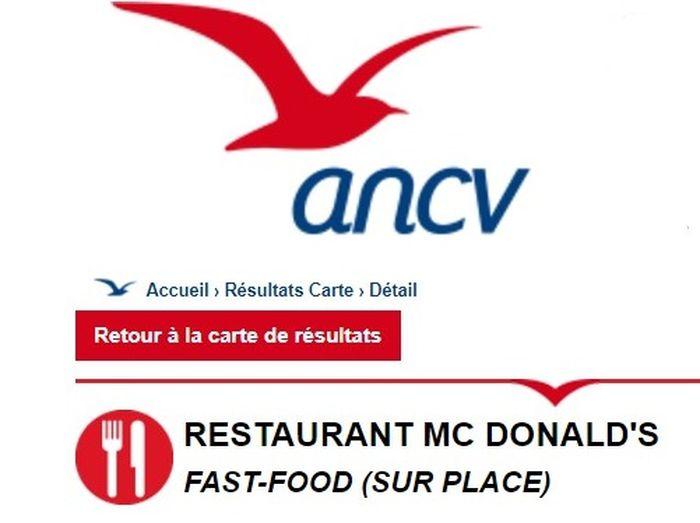 Utiliser Ses Cheques Vacances Pour Payer Un Fast Food Chez