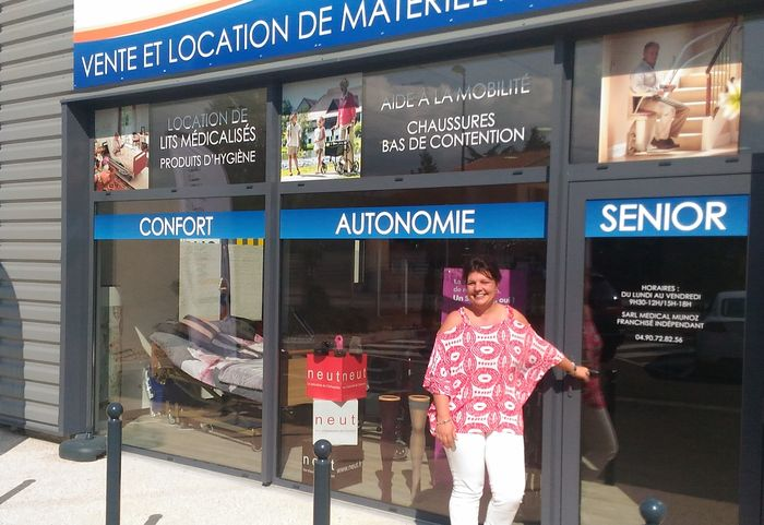 karine munoz, franchisée medical'isle à cavaillon