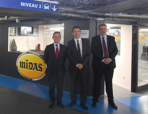 Midas centre parking Indigo Boulogne