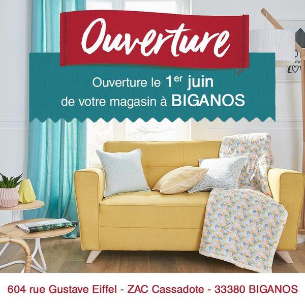 mondial tissus prpare son ouverture biganos. Black Bedroom Furniture Sets. Home Design Ideas