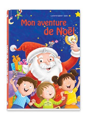 livre mon aventure de noel pour enfants mon monde à moi