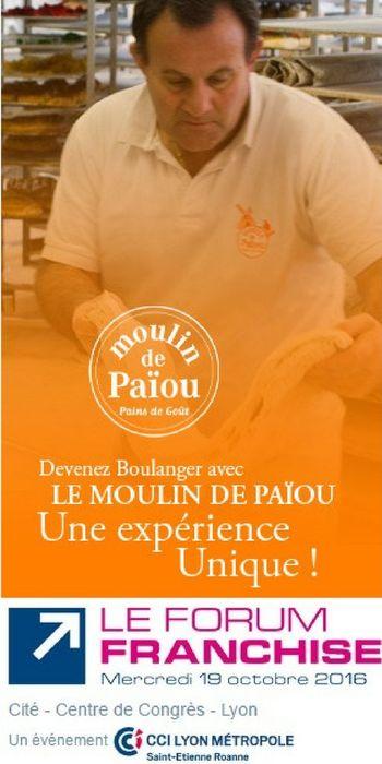 Ouvrir une boulangerie d couvrez le concept moulin de pa ou au forum franchise lyon - Salon des franchises lyon ...