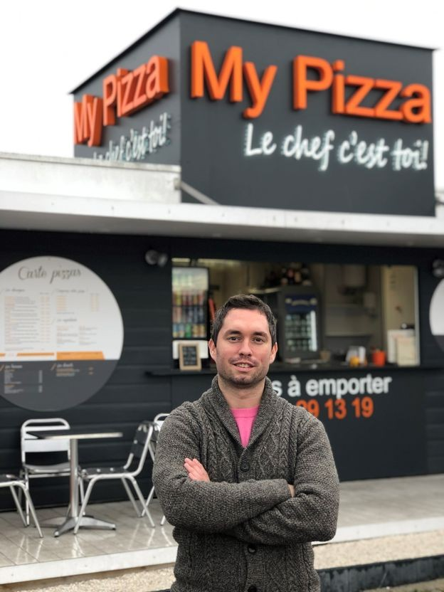 guillaume bannel, franchisé my pizza bordeaux