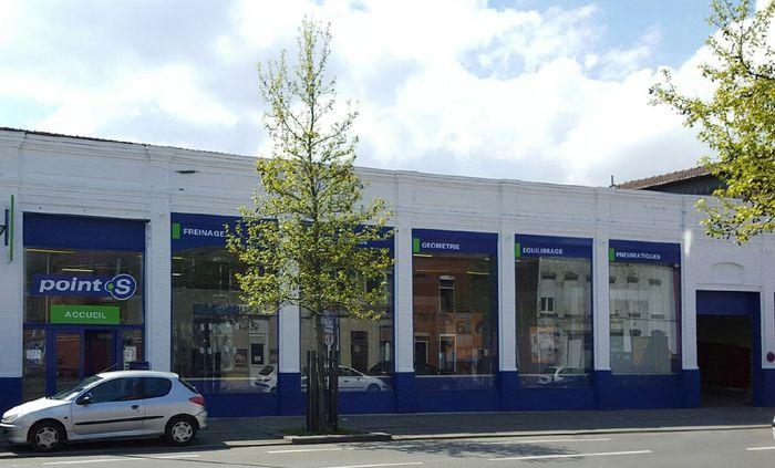 Point s ouvre un nouveau centre auto roubaix for Garage automobile roubaix