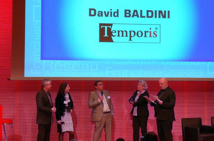 david baldini, franchisé temporis, vainqueur trophée forum franchise lyon