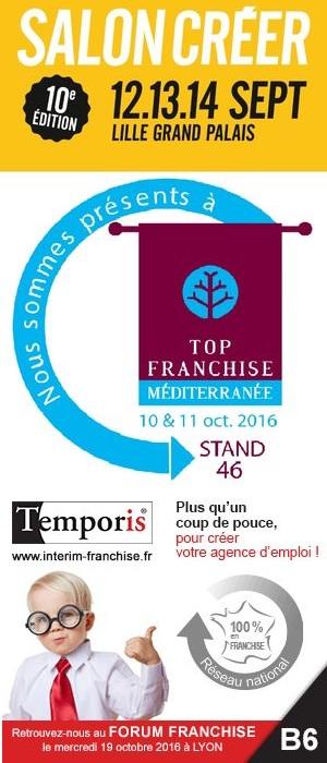Temporis participe aux trois rendez vous franchise de la rentr e - Salon franchise marseille ...