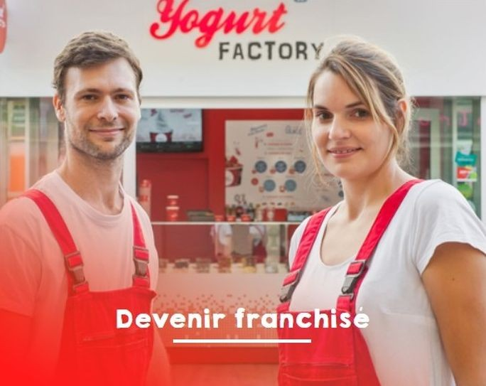 devenir franchisé yogurt factory
