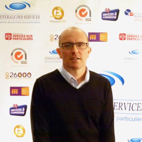 Antoine Bourreau, franchisé Générale des Services