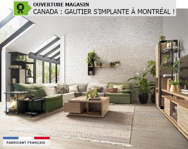 Gautier Montreal Une Deuxieme Implantation Canadienne Pour Le