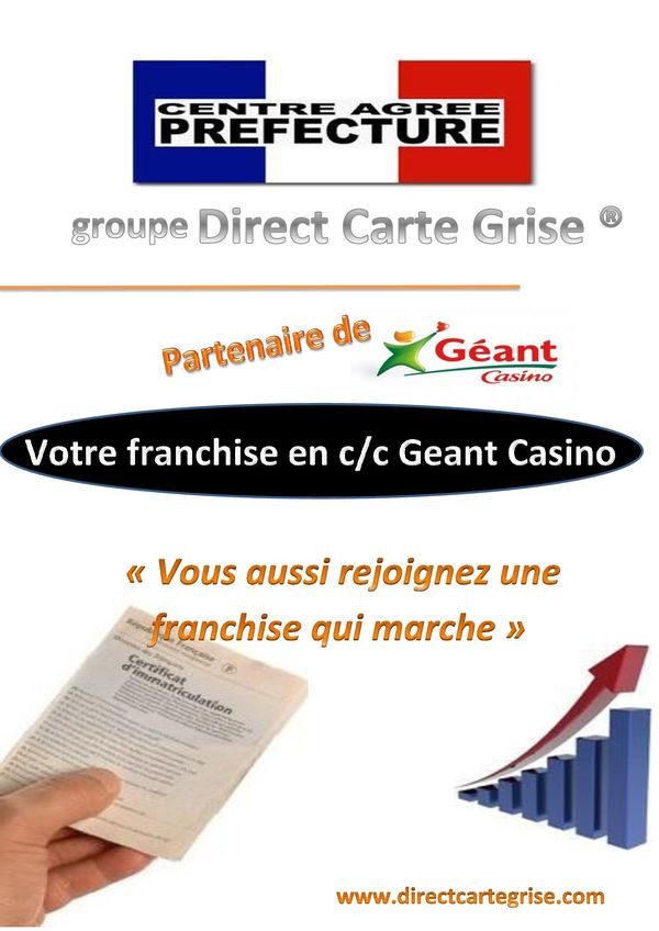 franchise direct carte grise dans franchise services divers. Black Bedroom Furniture Sets. Home Design Ideas