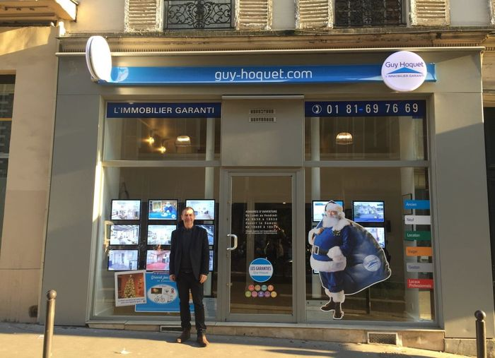 Guy hoquet l 39 immobilier accueille sa 27e agence parisienne for Agence immobiliere guy hoquet
