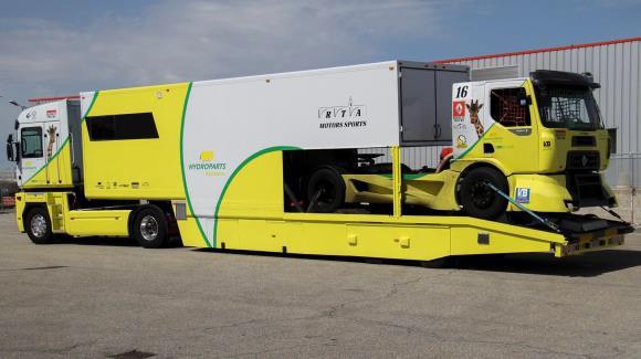 hydroparts assistance sponsor du pilote olivier bouzige pour la coupe de france camions. Black Bedroom Furniture Sets. Home Design Ideas