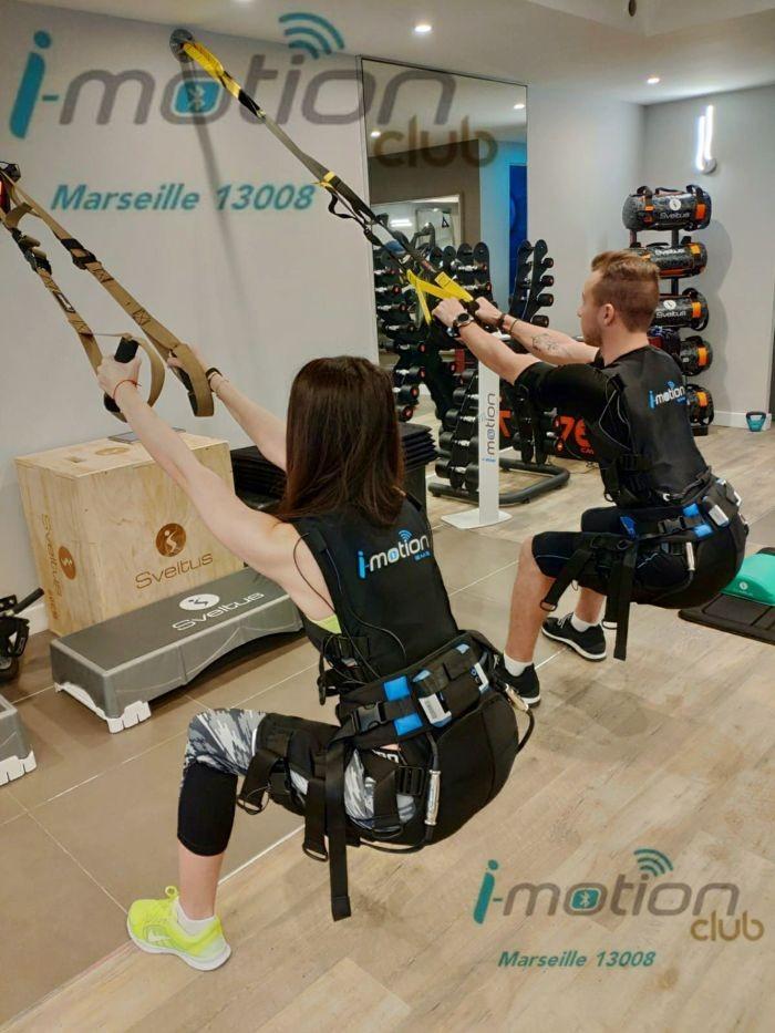 i motion club marseille 8 - I-Motion Club : Les dernières technologies au service de l'électrostimulation musculaire