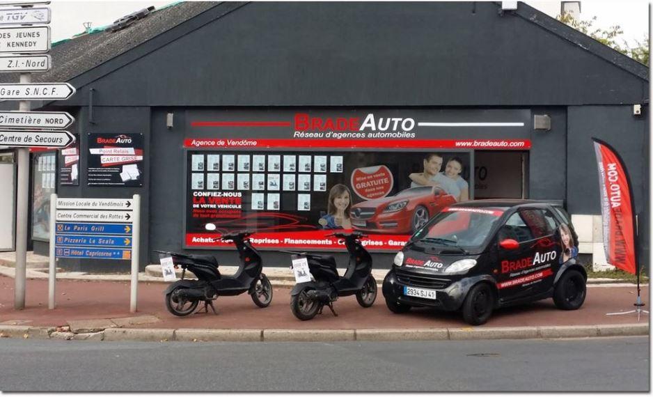 Franchise brade auto r seau d 39 agences automobiles for Garage sans franchise