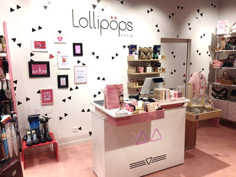 ouvrir un magasin lollipops