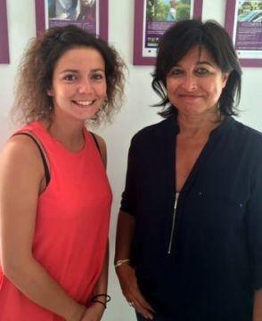 Anne et Cécile Cros