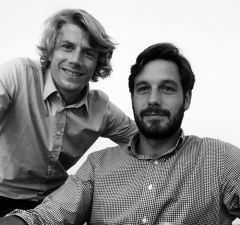 Grégory Huet et Martin Royer