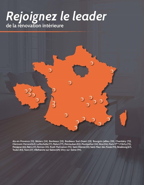 Carte des implantations Jerenove.com