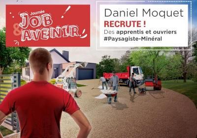 National recruitment day Daniel Moquet
