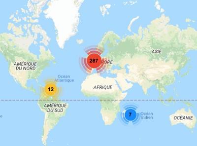 plus de 40 rencontres en Afrique du Sud