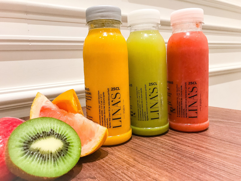 jus et fruits des restaurants franchisés linas