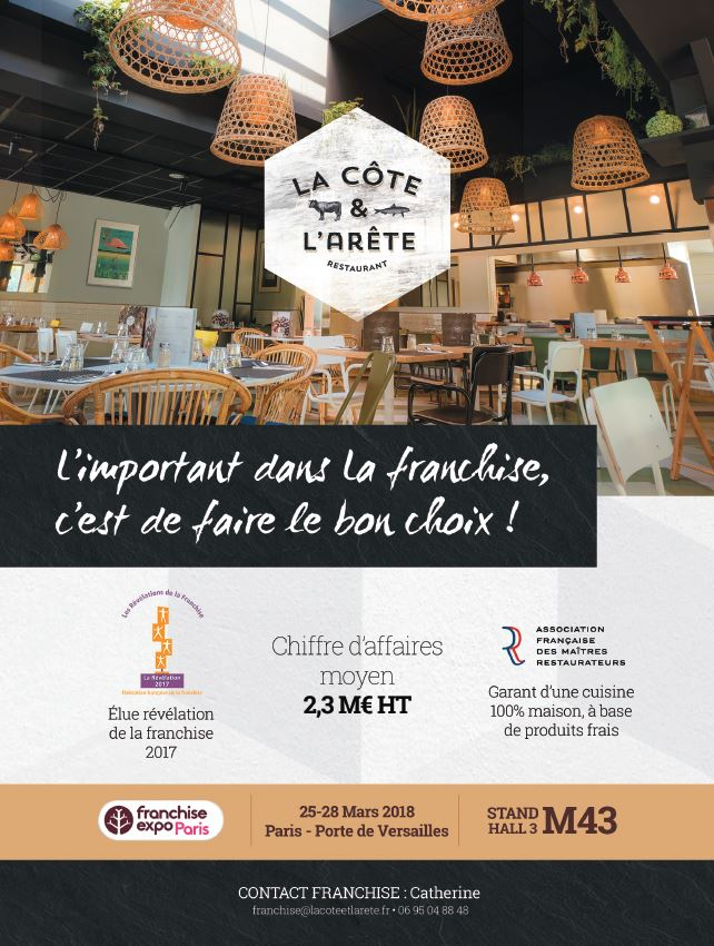 La c te et l 39 ar te annonce sa participation au salon franchise expo paris - Salon de la franchise date ...