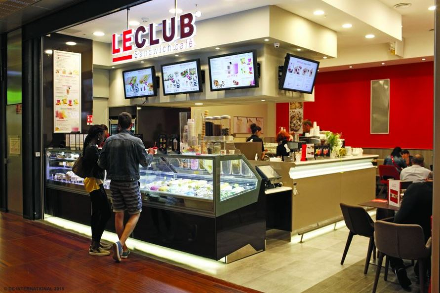Franchise le club sandwich cafe dans franchise - Un restaurant propose en dessert des coupes de glace ...