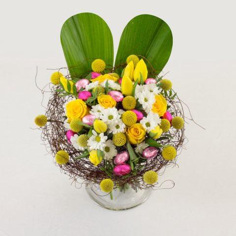 le jardin des fleurs organise sa chasse aux ufs avec les chocolats r aut. Black Bedroom Furniture Sets. Home Design Ideas