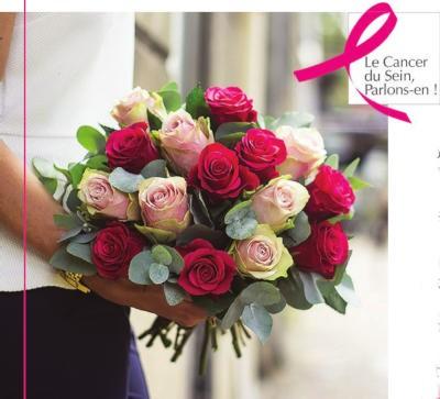 Le Jardin des Fleurs s\'engage contre le cancer du sein !