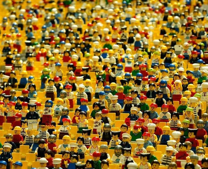 Nouveau Lego Shop choisir un mur de brique /& jeux de construction faite de Lego pièces