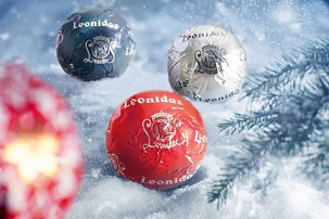 Boule De Noel Leonidas Découvrez les créations de Noël de Leonidas !