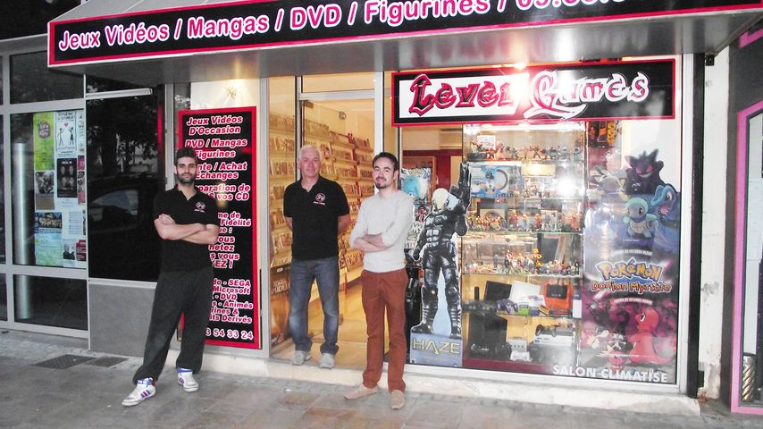 Level games une nouvelle boutique de jeux vido doccasion for Cash piscine avignon