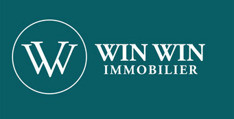 logo rectangulaire win win immobilier