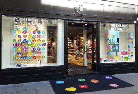 magasin prêt à porter enfant Z paris