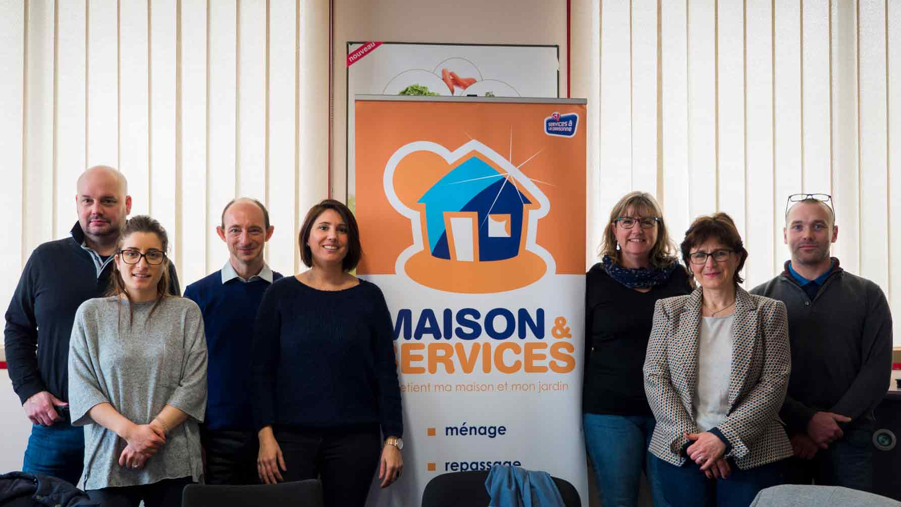 Maison & Services, formation