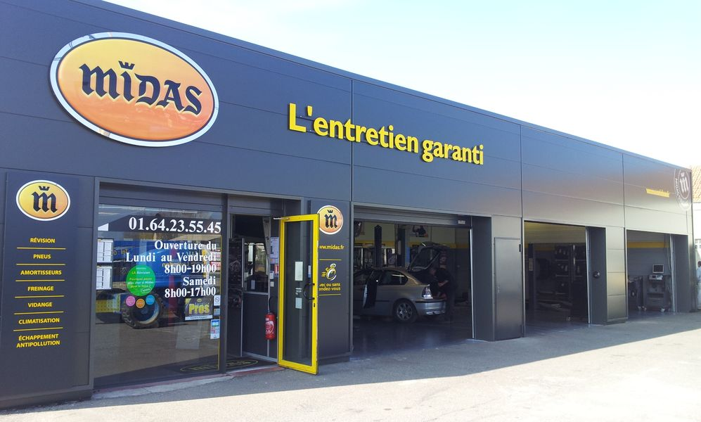 Franchise midas dans franchise garage centre auto for Garage midas corbeil essonnes