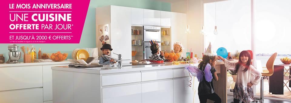 une cuisine gagner chaque jour pour l 39 anniversaire mobalpa. Black Bedroom Furniture Sets. Home Design Ideas