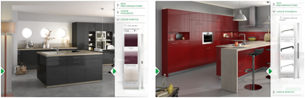 Le site mobalpa dvoile son espace inspiration for Outil simulation cuisine