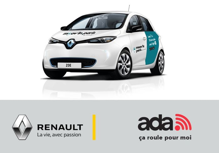Ada Renault Mov'in.Paris