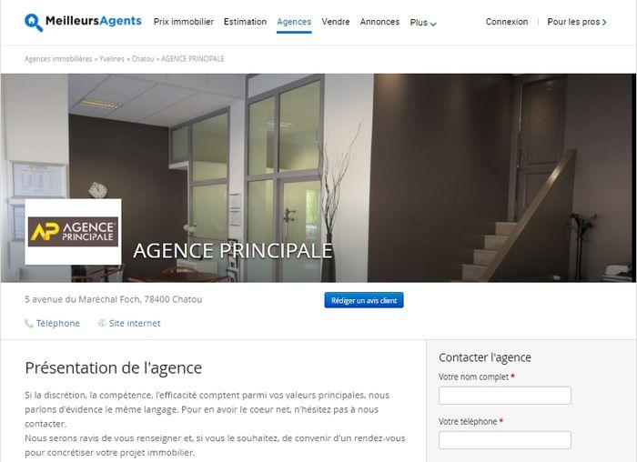 agence principale accroit sa visibilit web avec. Black Bedroom Furniture Sets. Home Design Ideas