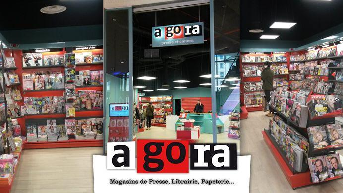 vente pas cher vente moins chère offre spéciale Agora Presse et Caetera s'implante aux Terrasses du Port à ...