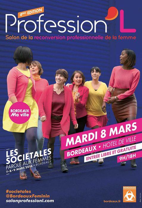 Reconversion professionnelle au fminin aquila rh for Salon de la franchise bordeaux