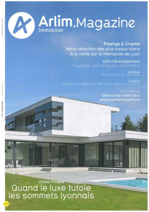 Franchise Arlim Immobilier magazine printemps 2016
