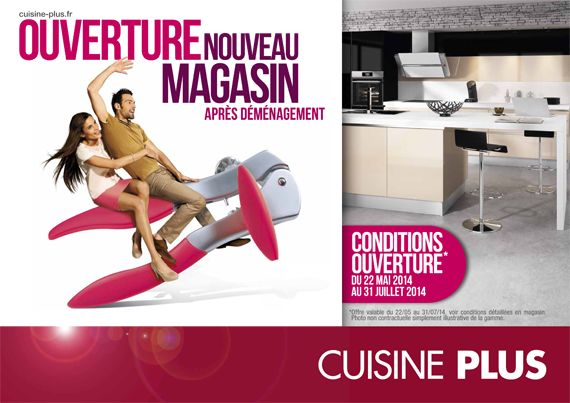 d m nagement du magasin cuisine plus de clermont ferrand. Black Bedroom Furniture Sets. Home Design Ideas